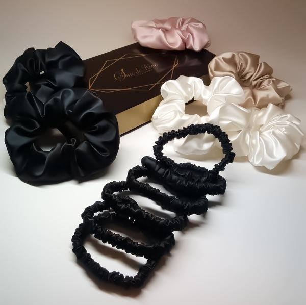 elastique-en-soie-noir